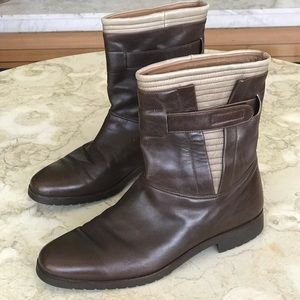 Vintage BALLY Leather Boots /Retro